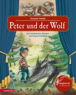 Peter und der Wolf (NA) von Prokofjew,  Sergej, Smajic,  Susanne
