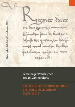 Petershäger Pfarrbücher des 16. Jahrhunderts von Jacobsen,  Uwe