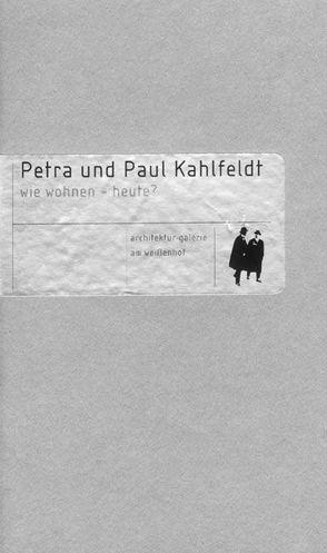 Petra und Paul Kahlfeldt von Architekturgalerie am Weißenhof