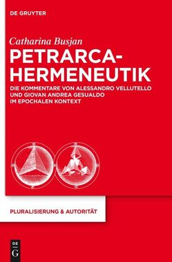 Petrarca-Hermeneutik von Busjan,  Catharina