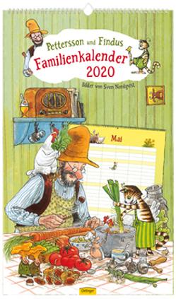 Pettersson & Findus Familienkalender 2020 von Nordqvist,  Sven