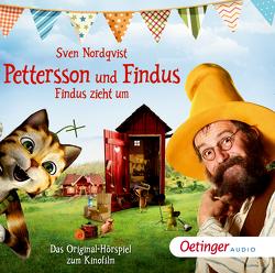 Pettersson und Findus 3 Findus zieht um von Herbrechter,  Max, Illert,  Ursula, Kurt,  Stefan, Nordqvist,  Sven, Sägebrecht,  Marianne