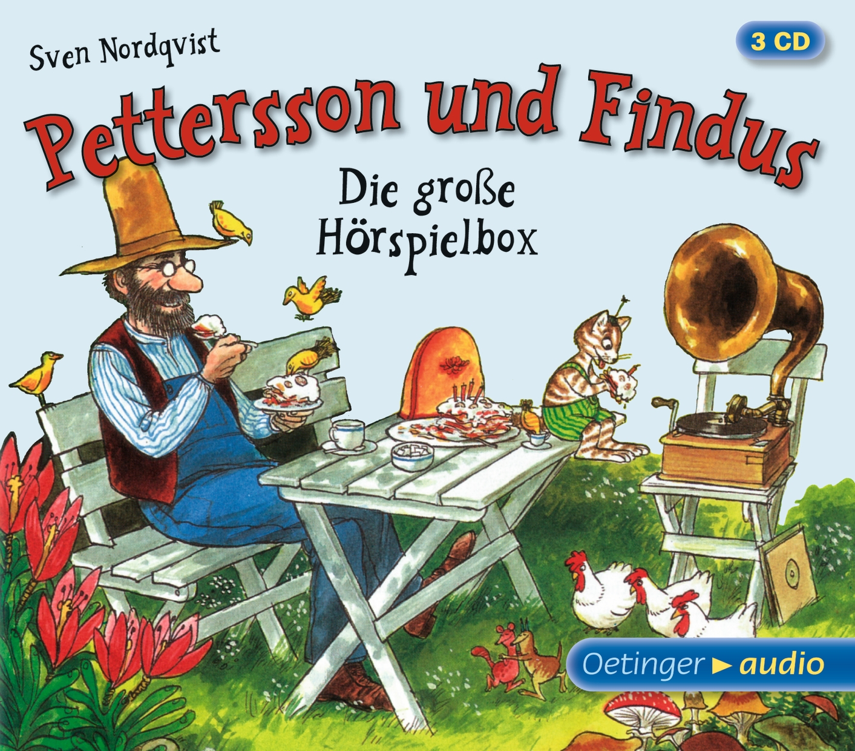 pettersson und findus die gro e h rspielbox 3 cd von. Black Bedroom Furniture Sets. Home Design Ideas