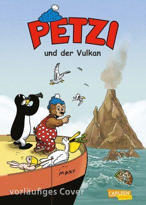 Petzi – Der Comic 1: Petzi und der Vulkan von Capezzone,  Thierry, Sanderhage,  Per