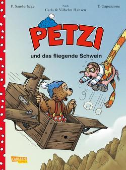 Petzi – Der Comic 2: Petzi-Comic, Band 2 von Capezzone,  Thierry, Sanderhage,  Per