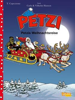 Petzi – Der Comic 3: Petzis Weihnachtsreise von Capezzone,  Thierry, Hansen,  Carla, Hansen,  Vilhelm, Sachse,  Harald