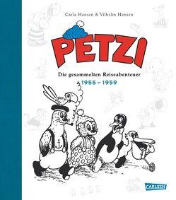 Petzi – Die gesammelten Reiseabenteuer 2 von Hansen,  Carla, Hansen,  Vilhelm, Pröfrock,  Nora