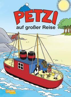 Petzi: Petzi auf großer Reise von Cardona,  José M., Hansen,  Carla, Hansen,  Vilhelm, Sanderhage,  Per
