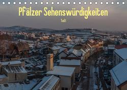 Pfälzer Sehenswürdigkeiten – Teil I (Tischkalender 2020 DIN A5 quer) von Hess,  Erhard