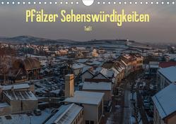 Pfälzer Sehenswürdigkeiten – Teil I (Wandkalender 2020 DIN A4 quer) von Hess,  Erhard