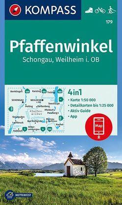 Pfaffenwinkel, Schongau, Weilheim i. OB von KOMPASS-Karten GmbH