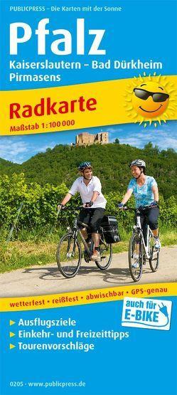 Pfalz, Kaiserslautern – Bad Dürkheim, Pirmasens
