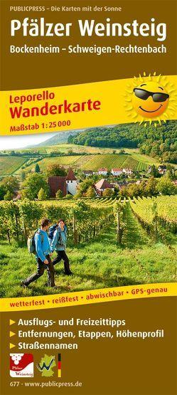 Pfälzer Weinsteig, Bockenheim – Schweigen-Rechtenbach