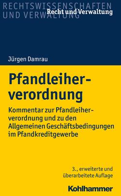 Pfandleiherverordnung von Damrau,  Jürgen