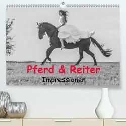 Pferd & Reiter – Impressionen (Premium, hochwertiger DIN A2 Wandkalender 2021, Kunstdruck in Hochglanz) von Obermüller Fotografie,  Yvonne