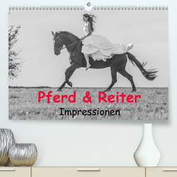 Pferd & Reiter – Impressionen (Premium, hochwertiger DIN A2 Wandkalender 2020, Kunstdruck in Hochglanz) von Obermüller Fotografie,  Yvonne