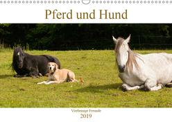 Pferd und Hund – Vierbeinige Freunde (Wandkalender 2019 DIN A3 quer) von Bölts,  Meike