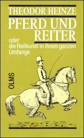 Pferd und Reiter von Heinze,  Theodor