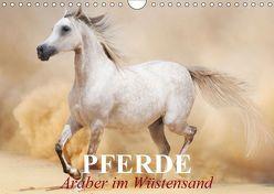 Pferde • Araber im Wüstensand (Wandkalender 2019 DIN A4 quer) von Stanzer,  Elisabeth