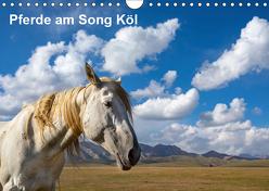 Pferde am Song Köl (Wandkalender 2019 DIN A4 quer) von Rusch,  Winfried