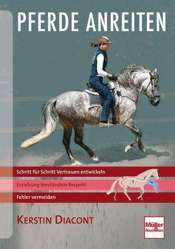 Pferde anreiten von Diacont,  Kerstin