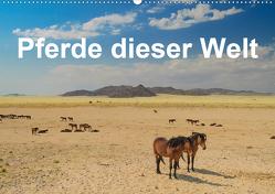 Pferde dieser Welt (Wandkalender 2021 DIN A2 quer) von Woehlke,  Juergen
