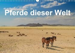 Pferde dieser Welt (Wandkalender 2021 DIN A3 quer) von Woehlke,  Juergen