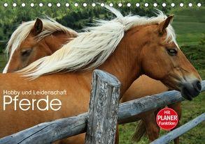 Pferde – Hobby und Leidenschaft (Tischkalender 2018 DIN A5 quer) von Niederkofler,  Georg