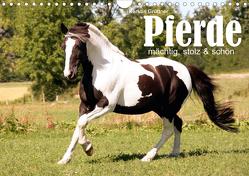 Pferde – mächtig, stolz & schön (Wandkalender 2020 DIN A4 quer) von Grüttner,  Kerstin
