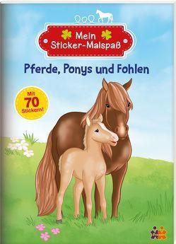 Pferde, Ponys und Fohlen