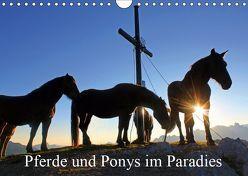 Pferde und Ponys im Paradies (Wandkalender 2019 DIN A4 quer) von Kramer,  Christa