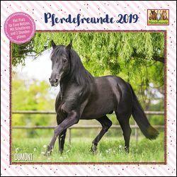 Pferdefreunde 2019 – Broschürenkalender – Kinder-Kalender – Format 30 x 30 cm von DUMONT Kalenderverlag, Roß,  Thea