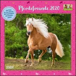 Pferdefreunde 2020 – Broschürenkalender – Kinder-Kalender – Format 30 x 30 cm von DUMONT Kalenderverlag, Roß,  Thea