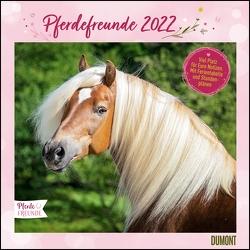 Pferdefreunde 2022 ‒ Broschürenkalender ‒ Kinder-Kalender ‒ Format 30 x 30 cm von Roß,  Thea