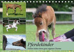 Pferdekinder – Fohlen haben ihren ganz eigenen Charme (Tischkalender 2019 DIN A5 quer)