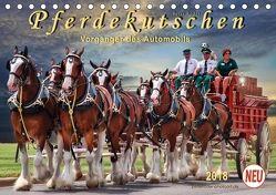 Pferdekutschen – Vorgänger des Automobils (Tischkalender 2018 DIN A5 quer) von Roder,  Peter