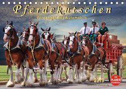 Pferdekutschen – Vorgänger des Automobils (Tischkalender 2019 DIN A5 quer) von Roder,  Peter