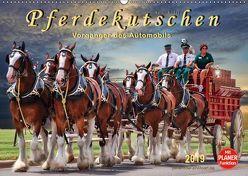 Pferdekutschen – Vorgänger des Automobils (Wandkalender 2019 DIN A2 quer) von Roder,  Peter