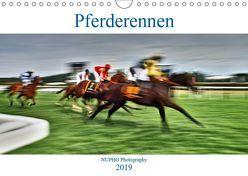 Pferderennen (Wandkalender 2019 DIN A4 quer) von Nihat Uysal,  NUPHO