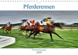 Pferderennen (Wandkalender 2020 DIN A4 quer) von Nihat Uysal,  NUPHO
