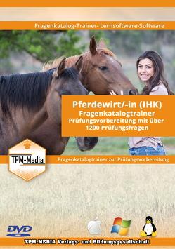 Pferdewirt/-in als Lerntrainer mit über 1280 Prüfungsfragen von Mueller,  Thomas