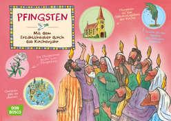 Pfingsten. Kamishibai Bildkartenset. von Funke,  Gertraud, Hebert,  Esther, Rensmann,  Gesa