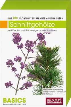 Pflanzen-Lernkarten: Die 100 wichtigsten Schnittgehölze von Haake,  Karl-Michael