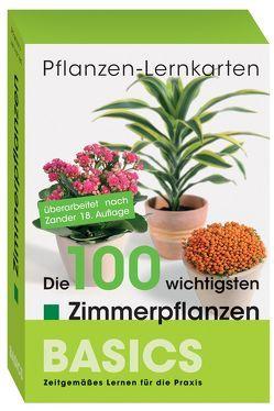 Pflanzen-Lernkarten: Die 100 wichtigsten Zimmerpflanzen von Haake,  Karl-Michael