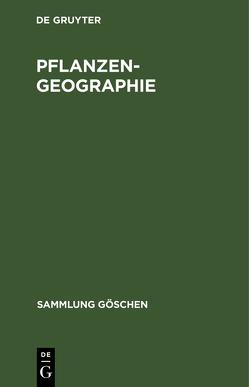 Pflanzengeographie von Diels,  Ludwig