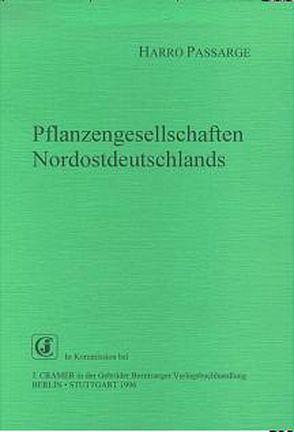 Pflanzengesellschaften Norddeutschlands von Passarge,  Harro