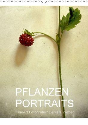 Pflanzenportraits FineArt Fotografie Daniela Weber (Wandkalender 2018 DIN A3 hoch) von Weber,  Daniela