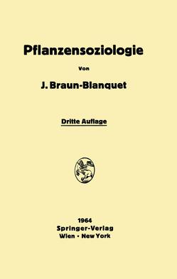 Pflanzensoziologie von Braun-Blanquet,  Josias