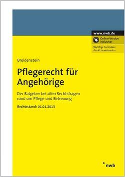 Pflegerecht für Angehörige von Breidenstein,  Christiane