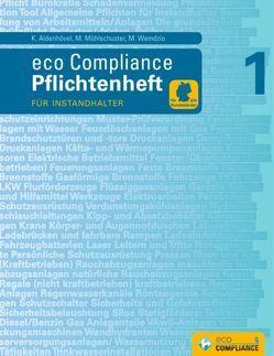 Pflichtenheft 1 von Aldenhövel,  Karsten, eco Compliance, Mühlschuster,  Martina, Wemdzio,  Marcel